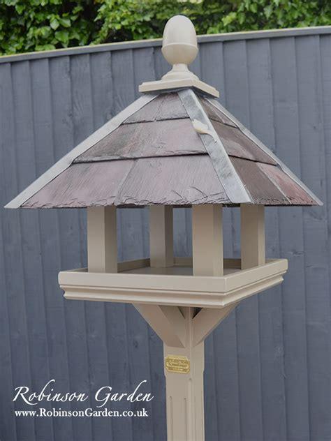 basil bird table bespoke handcrafted bird feeder table