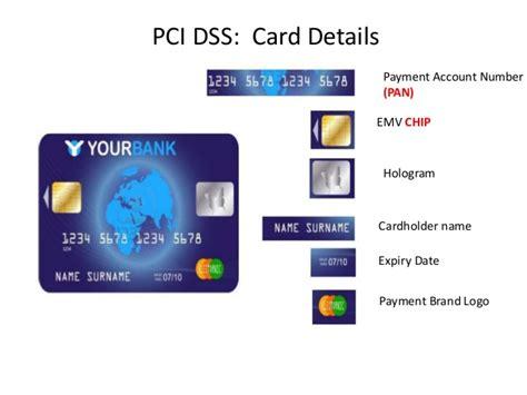 Where Is The Cardholder Name On A Visa Gift Card - pci dss v3 protecting cardholder data