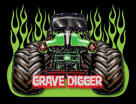 images of grave digger truck grave digger wallpapers wallpaper cave