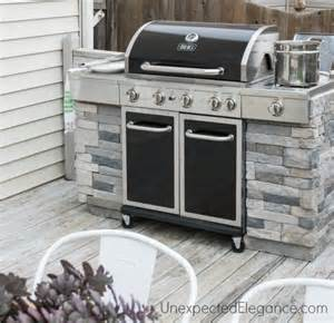 outdoor kitchen cabinets diy diy outdoor kitchens and grilling stations the garden glove