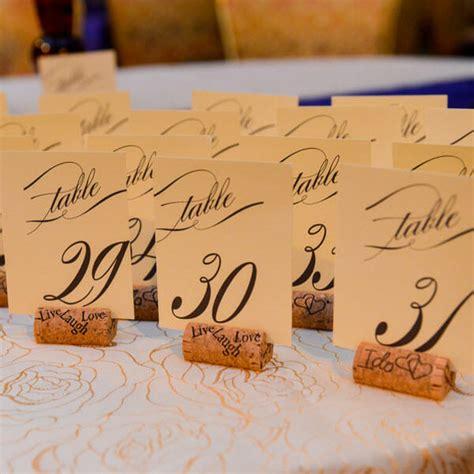 wine cork table numbers 7 simple stunning wine cork wedding diy ideas
