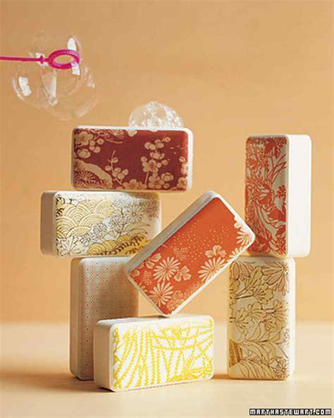 Japanese Handmade Soap - japanese motif soaps martha stewart