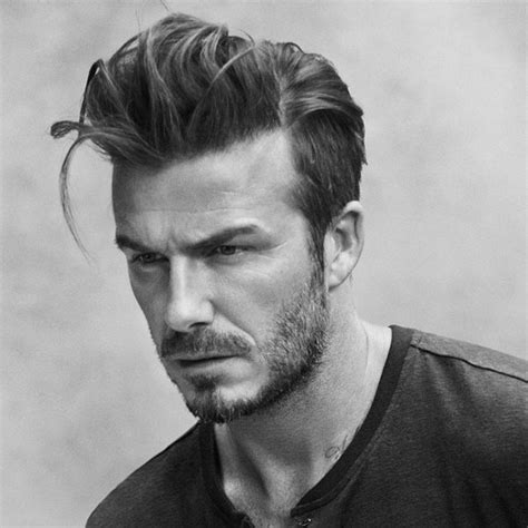 mens aports hair cuts 2015 david beckham comb over long hairstyles