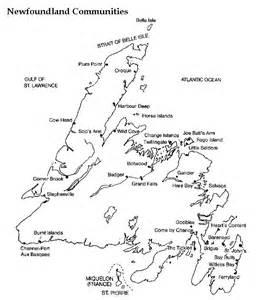 newfoundland printable map
