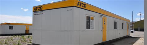 used atco office trailers modular buildings for sale