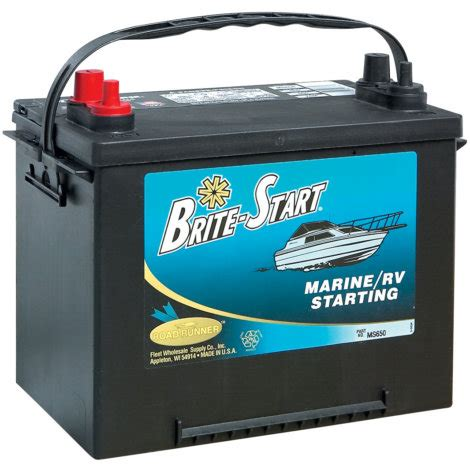Brite-Start Marine Battery 12 Mo 550 CCA by Brite-Start at ... Goose Hunting Rifle