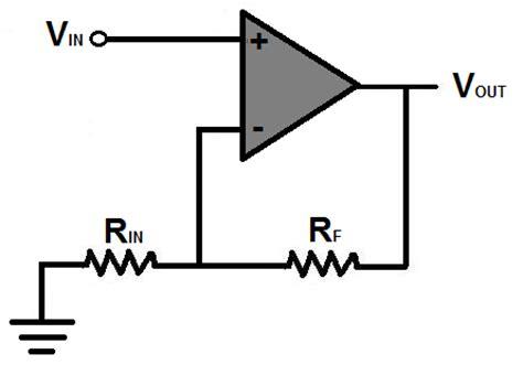 gain resistor formula op gain calculator
