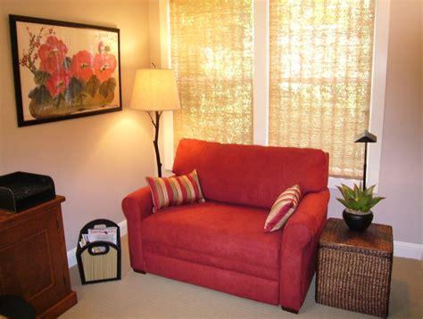 lovely small loveseat  bedroom homesfeed