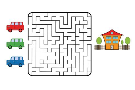 printable maze for 3 years old cute printable mazes for 7 year olds pictures inspiration