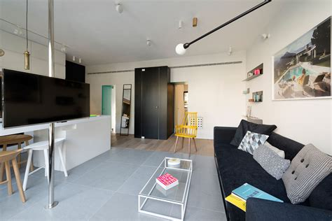 600 square feet apartment 600 square foot apartment uses glass walls to create two