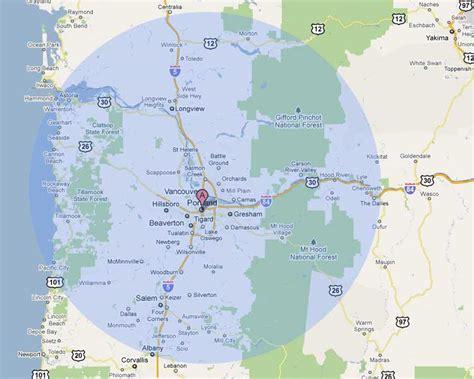 map of oregon city area accolade s service area