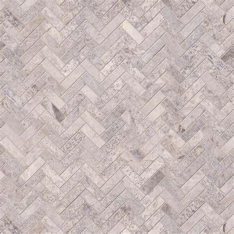 herringbone backsplash pattern silver travertine herringbone pattern honed backsplash