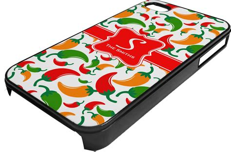 colored iphone colored peppers plastic 4 4s iphone personalized