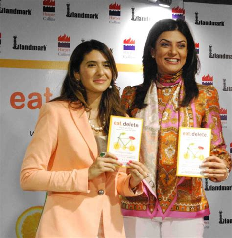 sushmita sen weight loss diet sushmita sen dazzles delhi at the launch of eat delete