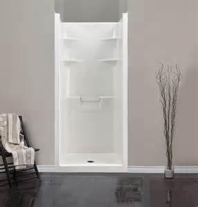 interior one fiberglass shower stalls bathroom