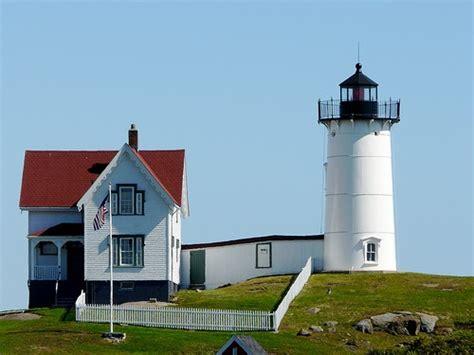 Cape Neddick Light by Lighthouses Of The U S Southern Maine