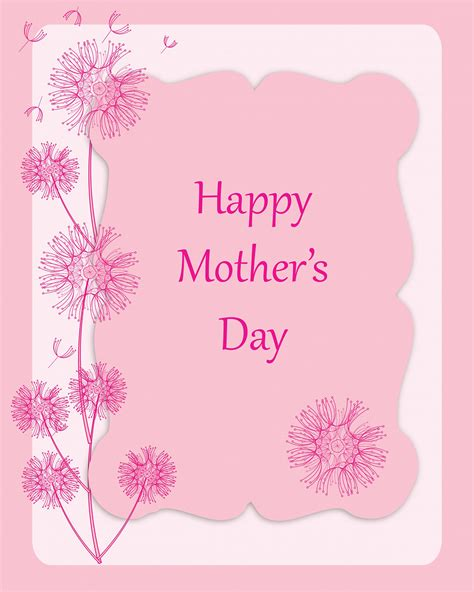 mother day card printable mother s day cards