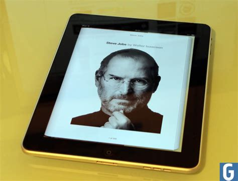 steve jobs autobiography steve jobs biography lands on the ipad