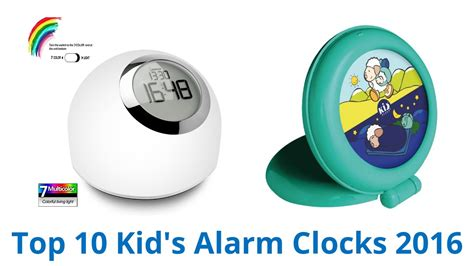 10 best kid s alarm clocks 2016