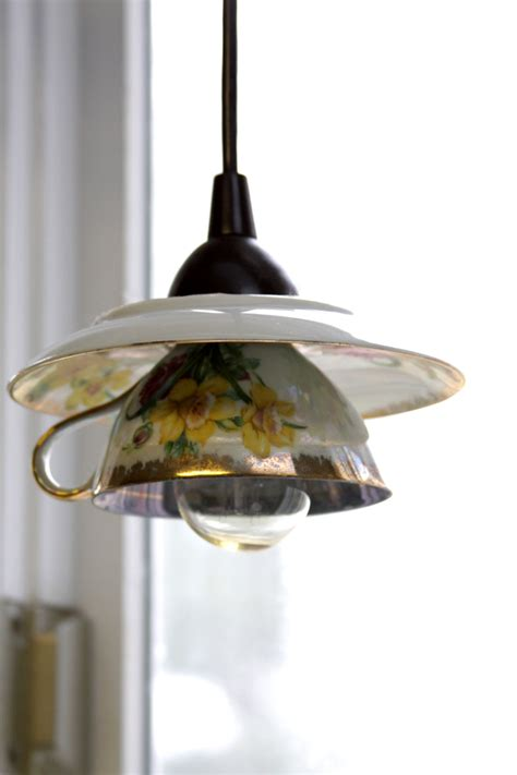 how to make pendant light teacup pendant light shades