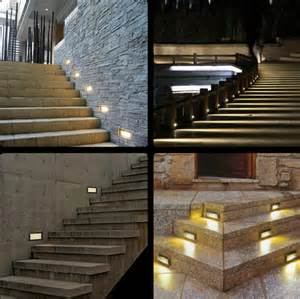 led outdoor step lights waterproof 1w led underground lighting recessed buried