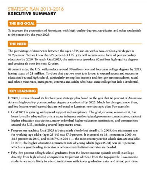 9 Best Executive Summary Templates Sles Pdf Free Premium Templates Executive Summary Design Template