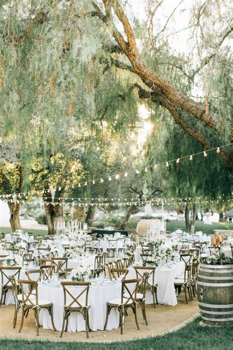 natural outdoor vineyard wedding ideas deer pearl flowers