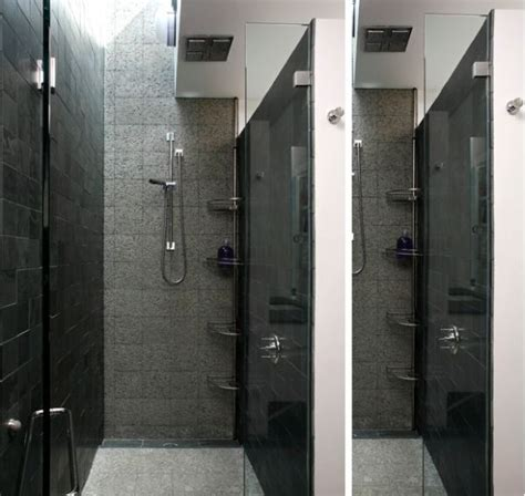 Design A Bathroom Layout save valuable space in your bathroom using shower caddies