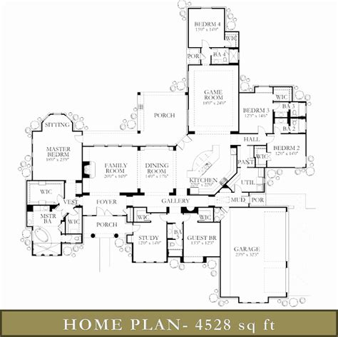 4000 square foot home floor plans home design and style 4000 square foot ranch house plans new floor sq ft luxamcc