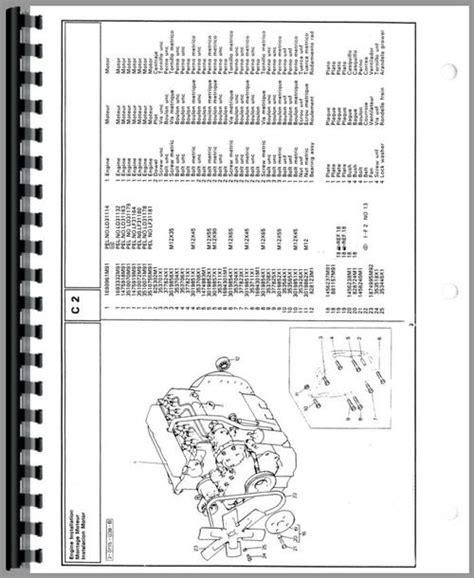 Massey Ferguson 50e Industrial Tractor Parts Manual
