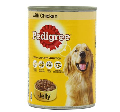 Makanan Anjing Pedigree Puppy 400 Gram pedigree can with chicken in jelly 400 gm food
