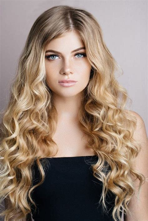 going out wavy hairstyles long curly hairstyles 25 fun and flirty styles for long