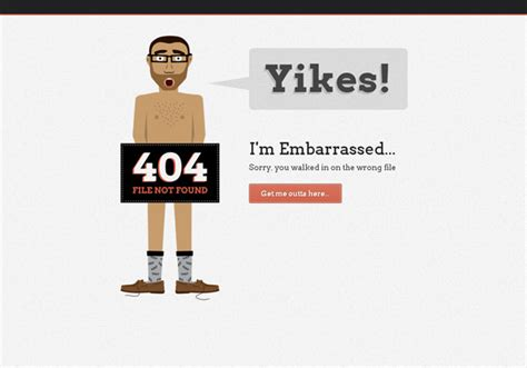 404 Page Error error pixelpush design