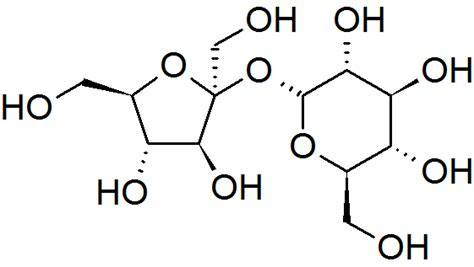 Table Sugar Formula by File Sucrose Cascc Png Wikimedia Commons