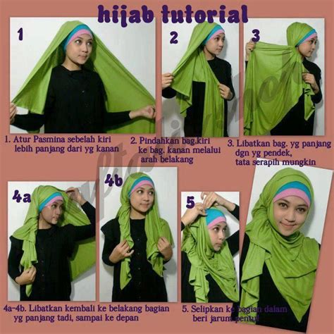 tutorial hijab pashmina tipis 25 best images about hijab styles on pinterest the