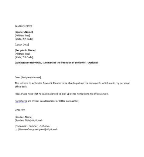 authorization letter for company representative sle of authorization letter for company representative