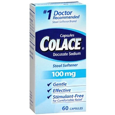 Side Effects Of Docusate Sodium Stool Softener by Colace Bad