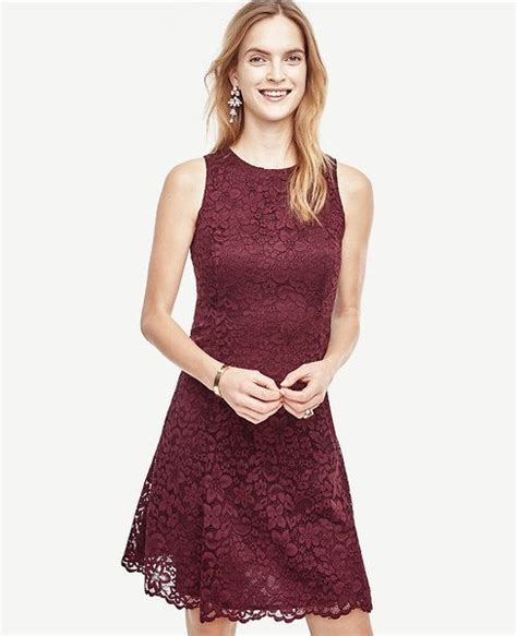 Vilia Lace Flare Dress 308 best images about burgundy wedding ideas on