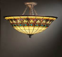 Tiffany Style Pendant Light Fixture Stained Glass Lamps Lighting Ceiling Fans On Winlights Com