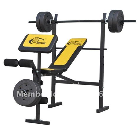 gym bench with weights new fitness equipment sport weight lifting bench gym
