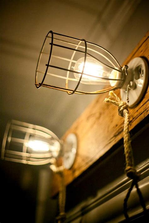 Diy Light Fixtures by Diy Pallet Caged Light Fixture Pallet Furniture Plans