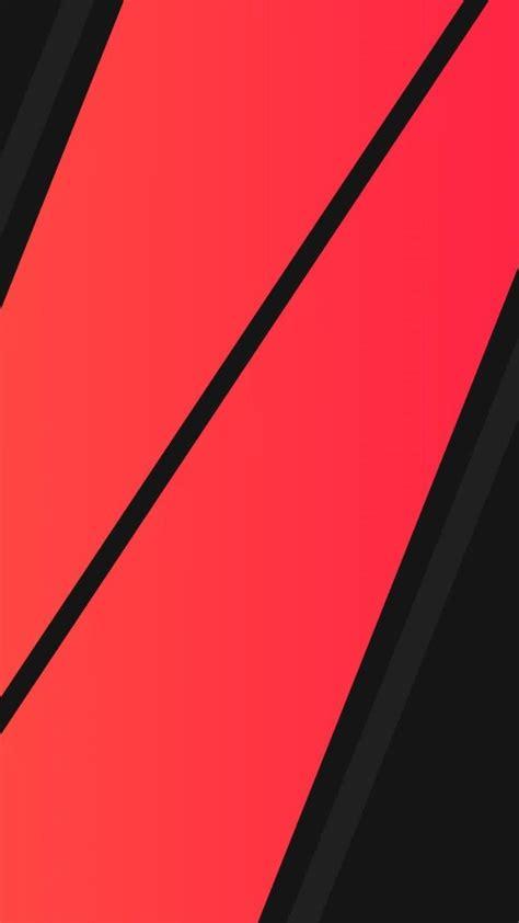 black red minimalism wallpaper