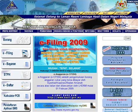 Deadline For Lhdn E Filing | deadline for lhdn e filing amokika april 2009