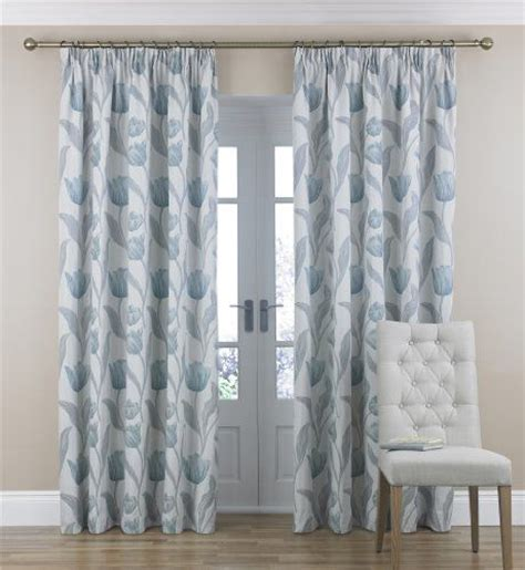 marks curtains tulip jacquard pencil pleat curtains marks spencer