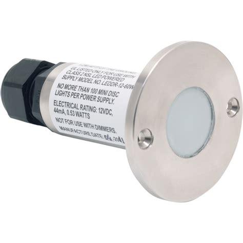nsl ledmd cw ss led minidisc light cool white led