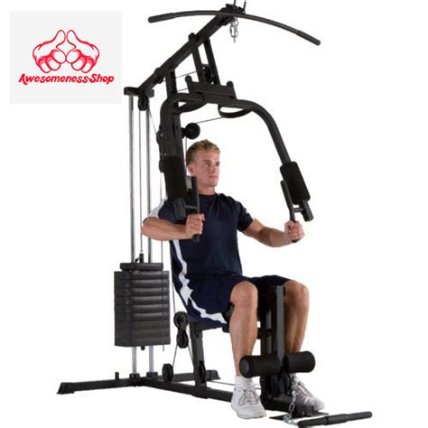 home stack workout machine equipment exercise