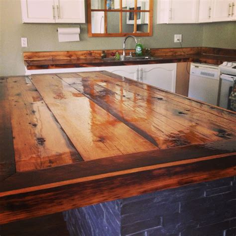 diy rustic wood countertops diy countertops rustic barn board house ideas diy countertops rustic barn and