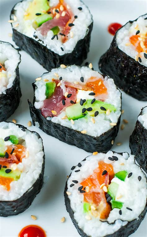 sushi in sushi tips tricks and toppings peas and crayons