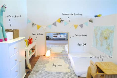 ideen kinderzimmer montessori sch 246 nes montessori kinderzimmer beau s montessori room 8
