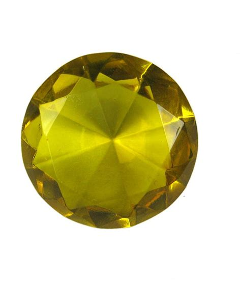 feng shui yellow eshoppee vastu fengshui yellow crystal diamond 40 mm